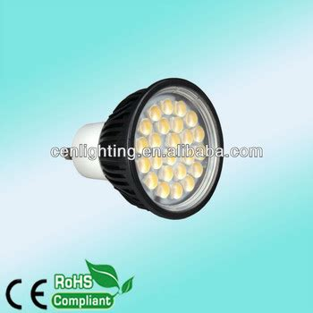 led len gu10 smd5050 with optical lens 24pcs smd5050 with optical lens