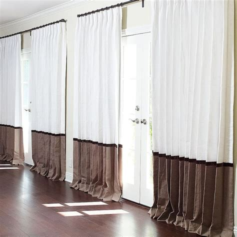 two tone curtains window treatments 14 best curtains borders images on curtains