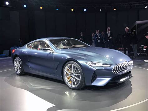 bmw 8 series concept in 9 live images