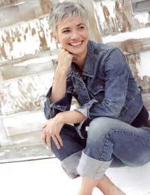 funky hairstyle for silver hair 15 short pixie hairstyles for older women short