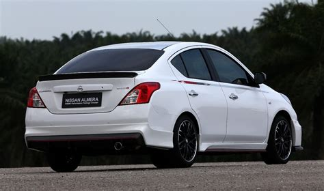 nissan sunny 2013 nissan almera nismo performance package concept revealed