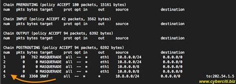 nat tutorial linux linux iptables delete postrouting rule command nixcraft