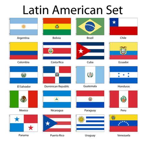3x5ft set of 20 latin american flags latin american