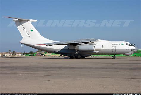 ilyushin il td libyan air cargo aviation photo  airlinersnet