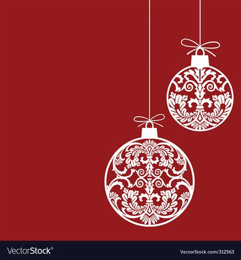 crafts stock images royalty free images vectors christmas ornaments royalty free vector image vectorstock