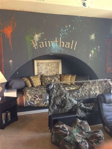 boys hunting bedroom boys bedroom paintball camo camo pinterest plays