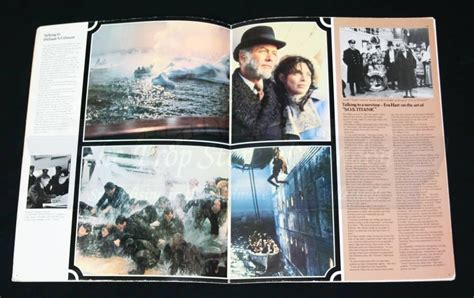 titanic film uk certificate promotional press kit prop store ultimate movie