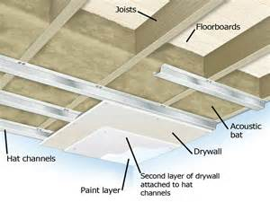 soundproof apartment ceiling soundproofing a ceiling how tos diy