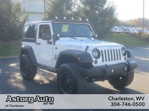 Jeep Charleston Wv White Jeep Wrangler Used Cars In West Virginia Mitula Cars