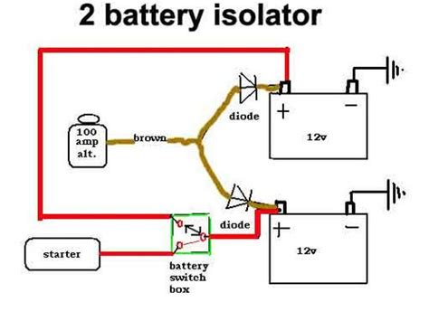 isolation diode generator vrs alternator mgb gt forum mg experience forums the mg experience