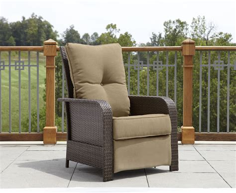 La Z Boy Outdoor Recliner by La Z Boy Outdoor Dbjm Rc Benjamin Recliner Sears Outlet