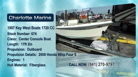 youtube key west boats 1997 key west boats 1720 cc youtube