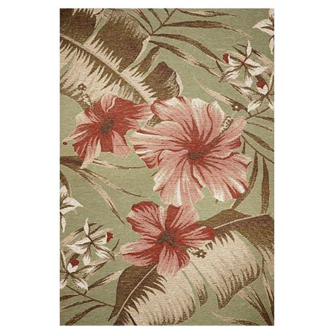 hibiscus rug kas rugs hibiscus 3 ft 4 in x 4 ft 11 in area rug hor571434x411 the home depot