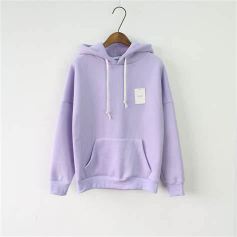 Sweatshirts For Sale Solid Hooded Hoodies For 2017 Sale Korean Pocket