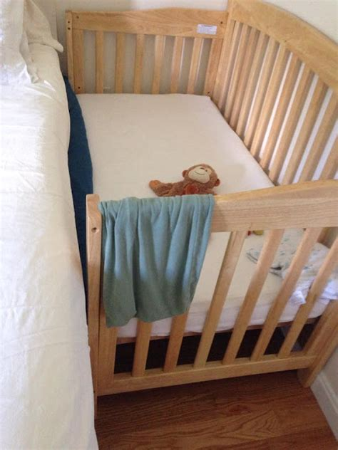 Sidecar Crib Safety by Peaceful Parenting Turn Your Crib Into A Cosleeper