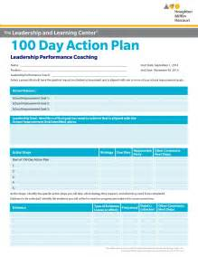 100 Day Business Plan Template 100 Day Planning Template Template