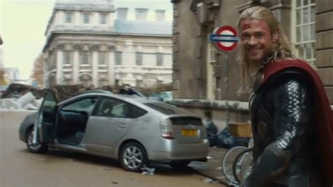 thor movie vehicle thor likes the toyota prius autoevolution
