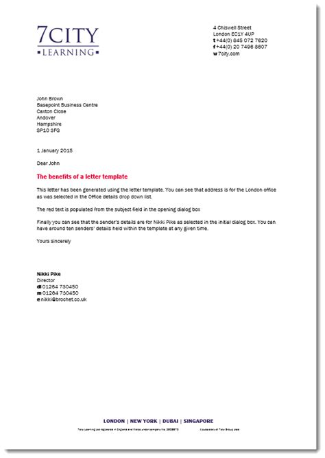 Memo Template Word 2013 by Brochet 187 Letter Template