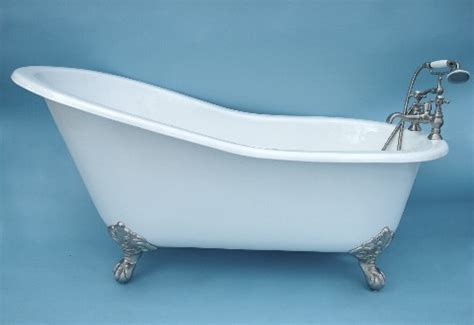 claw feet for bathtub 68 quot slipper clawfoot bathtub with imperial ball and claw feet