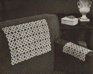 crochet pattern for armchair covers crochet arm chair covers pattern crochet patterns only