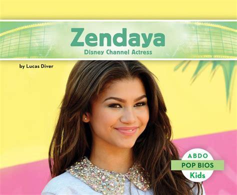 zendaya biography book zendaya disney channel actress by lucas diver hardcover