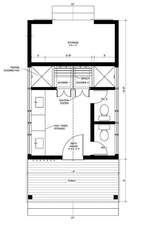 Farmhouse Style House Plan 0 Beds 1 Baths 150 Sq Ft Plan
