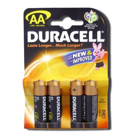four aa batteries duracell aa batteries four pack shiva
