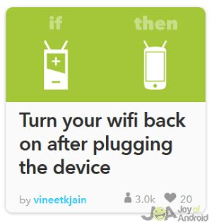 wifi wont turn on android how to save battery using these 5 helpful ifttt recipes