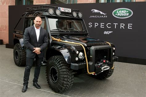 land rover truck james bond seilwinde defender james bond spectre