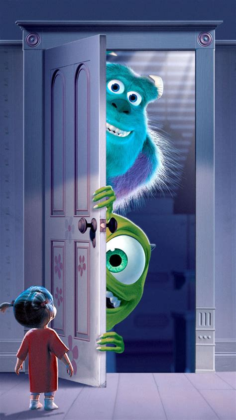 wallpaper iphone monster inc monsters inc movie wallpaper free iphone wallpapers