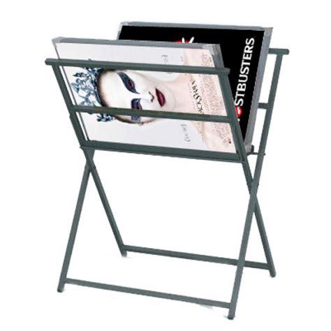 foldaway archival print stand racks for print storage