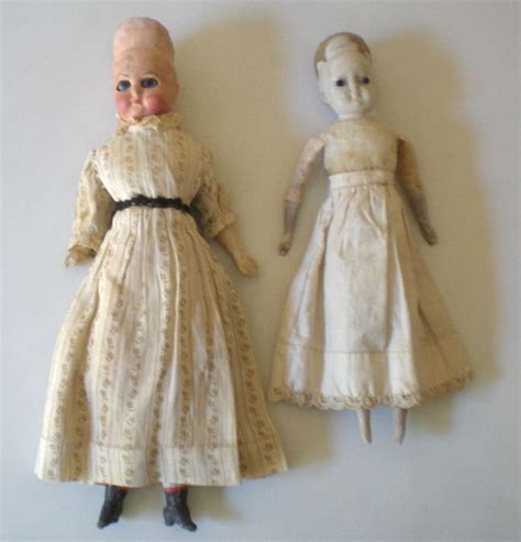 porcelain doll 1800s 2 antique dolls need help 1800 s from californiagirls