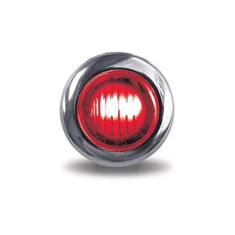 3 4 led marker lights red 3 4 quot round led marker light 3 diodes