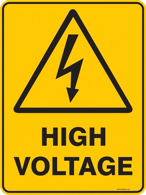 warning signs warning sign high voltage ready signs