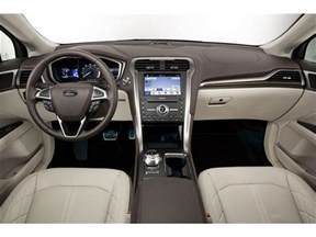 Ford Fusion Inside 2018 Ford Fusion Interior U S News World Report