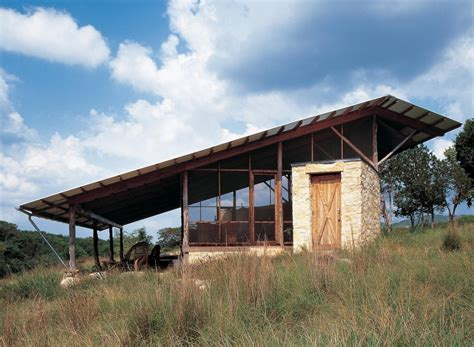 country architects hill country jacal lake flato