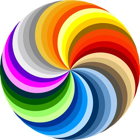 colorful swirls swirl colorful rainbow colors 183 free vector graphic on pixabay