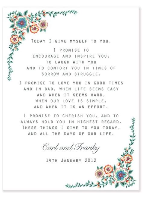 Wedding Ceremony Guest Vows by Wedding Vows Best Photos Page 3 Of 4 Wedding Ideas