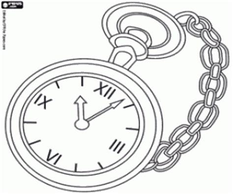 Coloriage Horloges Et Montres 224 Imprimer