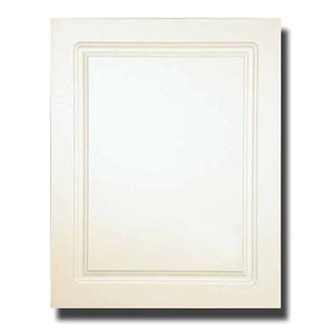 White Framed Recessed Medicine Cabinet by American Pride 9612rp1ar1 Recessed Raised Panel Medicine