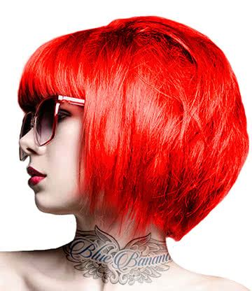 permanent red hair color crazy color semi permanent fire red hair dye 100ml hair