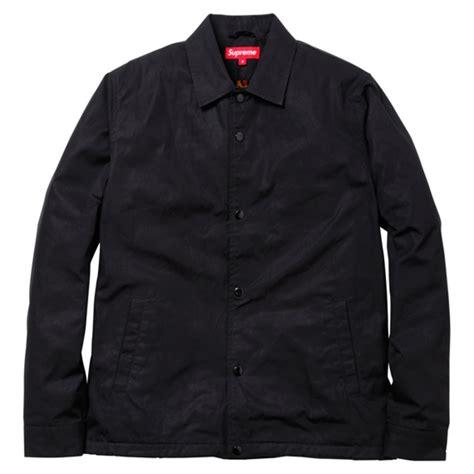 Jaket Supreme Hoodies Leopard Black Terbaru supreme leopard lined coaches jacket available now