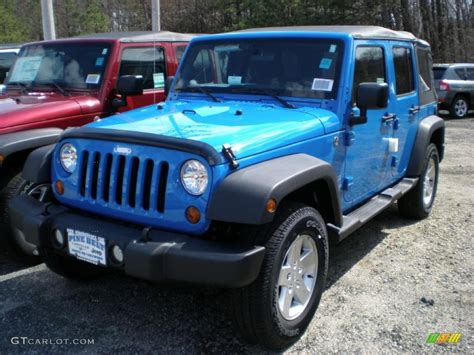 blue jeep wrangler unlimited 2011 cosmos blue jeep wrangler unlimited sport 4x4