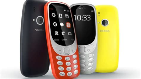 Nokia 3310 Second nokia unveils the new 3310 a relaunch of classic mobile