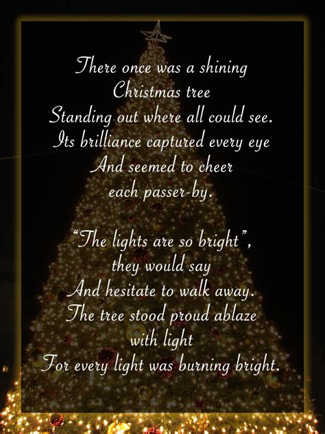 christmas tree card poem children do you the ultimate tree macys would to it contest ad