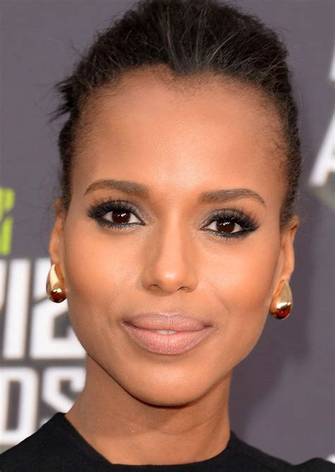 kerry washington hair pin up a little digging led to the name of the lipstick kerry