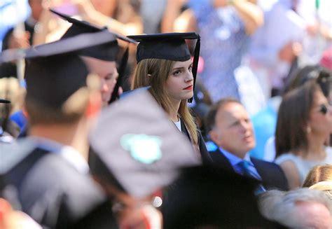 emma watson graduation emma watson graduation 16 gotceleb
