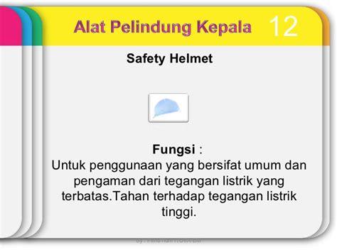 Pelindung Kepala alat pelindung diri k3