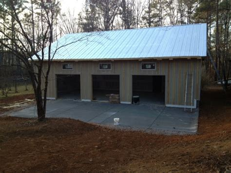 Lifting A Garage From The Foundation by Monolithic Slab Synergy Building Company Custom
