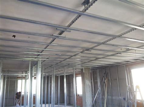 struttura per controsoffitto in cartongesso foto struttura per controsoffitto di ediliziapuntoit